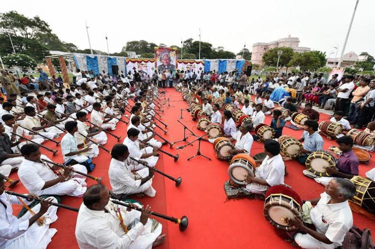 Journalists consortium asks TN govt to rename ECR after Kalam holds musical tribute