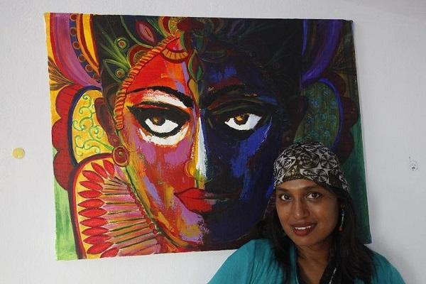 Cutting the phallus and destroying binaries Transgender activist Kalkis battle through art