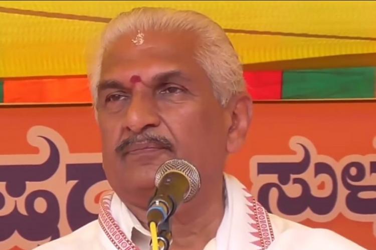 Kallada Prabhakar is known to make controversial statements
