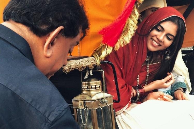 Kalyani Priyadarshan finishes her part in Marakkar Arabikadalinte Simham