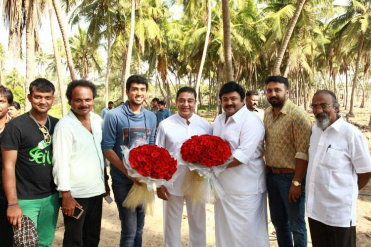 Kamal Haasan shows gratitude to Sivaji Ganesan acts in his grandsons film