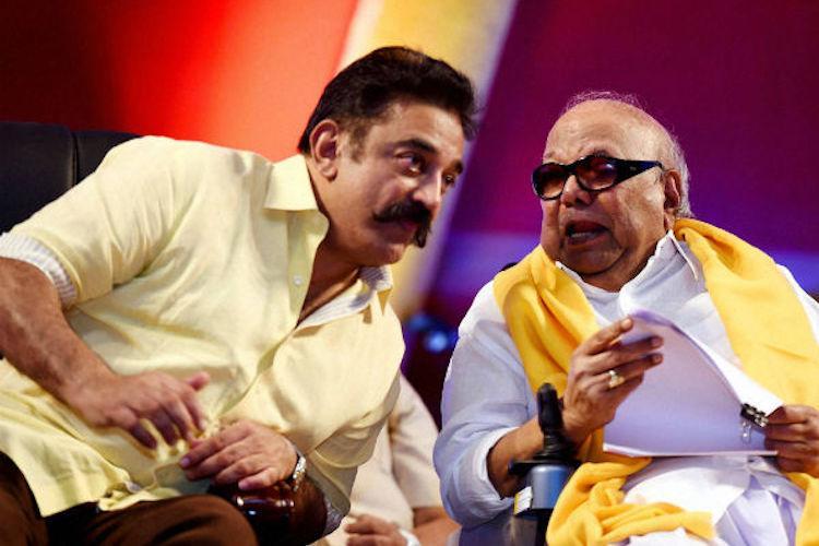 Hes among those who taught me Tamil Kamal heaps praise on Karunanidhi ahead of birthday