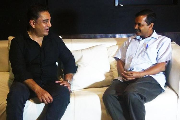Those against corruption and communalism need to unite Kamal Kejriwal after Chennai meeting