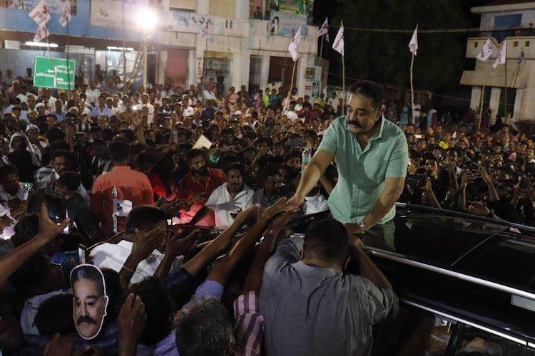BJP moves EC for 5-day ban on MNM leader Kamal Haasan