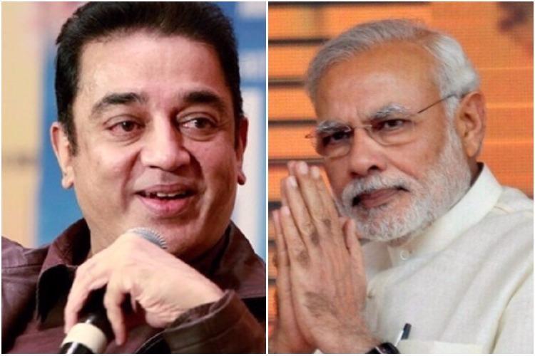 Kamal Haasan goes soft on PM Modi calls Swachh Bharat demonetisation good ideas