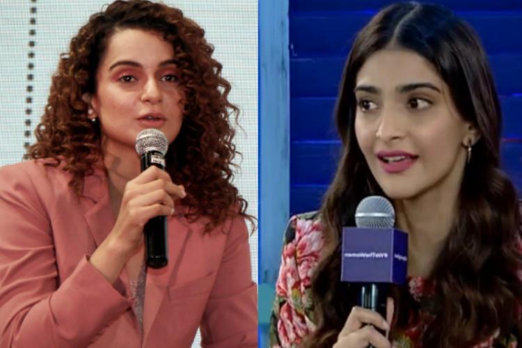 What makes her unsure of my claims Kangana responds to Sonam Kapoors remark