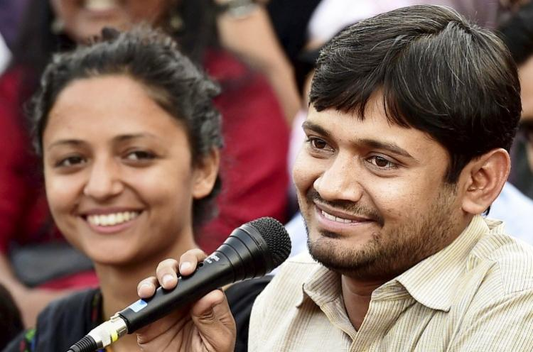After outrage JNU confirms Kanhaiya was fined for misbehaviour with girl student