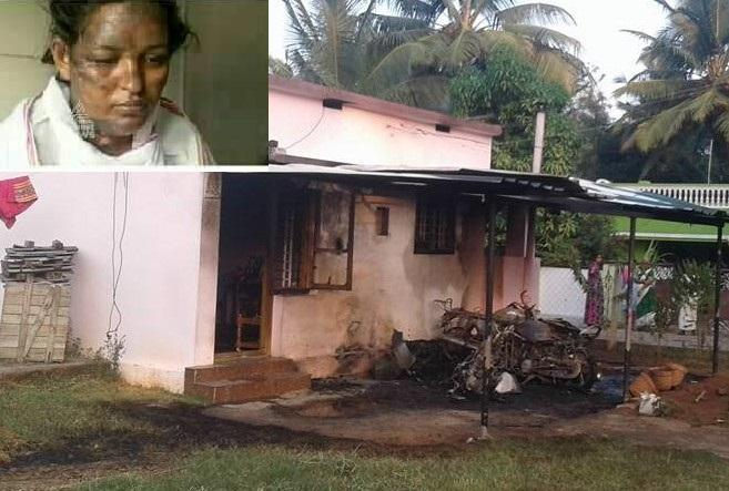 Another death in Kerala political violence Palakkad BJP leaders wife succumbs to burns