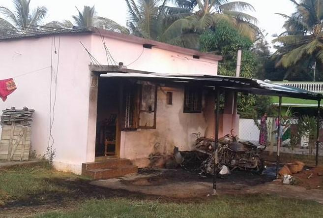Political murder again Kerala BJP man dies after house burnt down in attack by CPIM workers