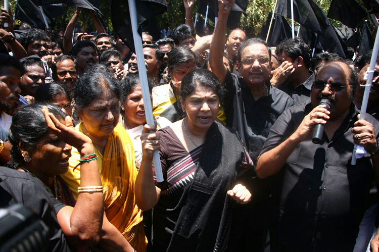 Centre cannot leave farmers in distress just to win Karnataka elections Kanimozhi to TNM