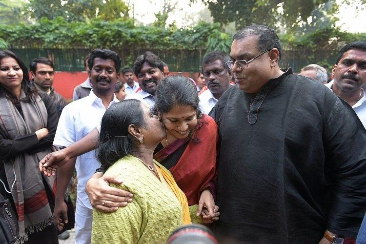 I am an atheist but will defend my mothers right to visit temple Kanimozhi