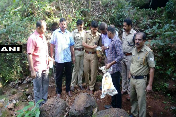 Day after Kannur shed blast accused BJP worker still absconding