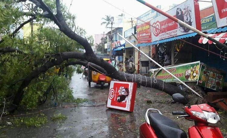 Cyclone Ockhi scrapes Kerala