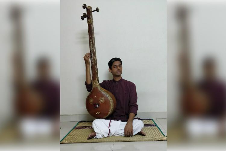 Musical vision Meet Jaisankar visually impaired Chennai vocalist and teacher