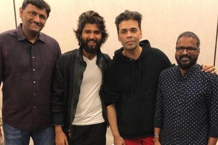 Director Karan Johar clarifies on Bollywood remake of Dear Comrade