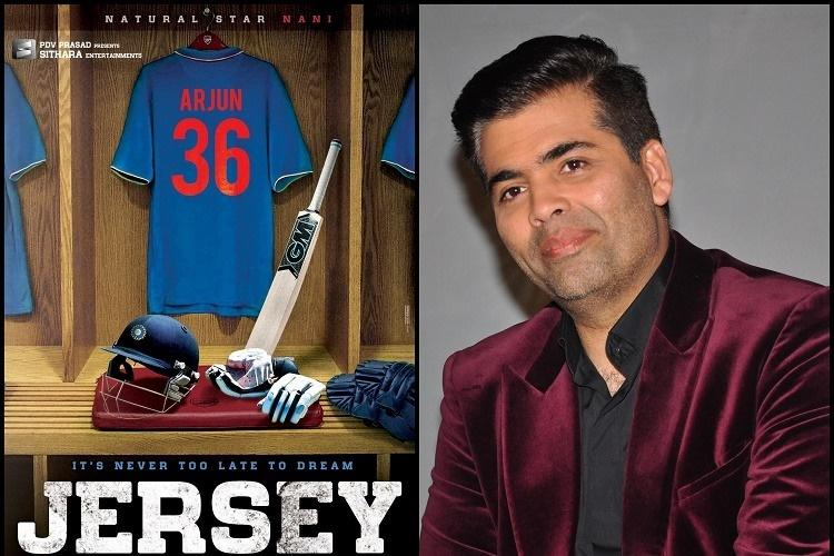 Karan Johar bags remake rights for Nanis Jersey