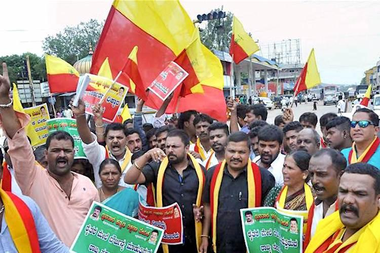 Whats illegal about a Karnataka flag State Law Min takes on national BJP Yeddy talks soft