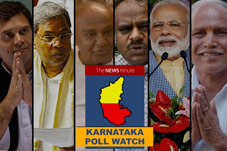 Poll Watch A wrap of all the politicking and campaigning this week in Karnataka