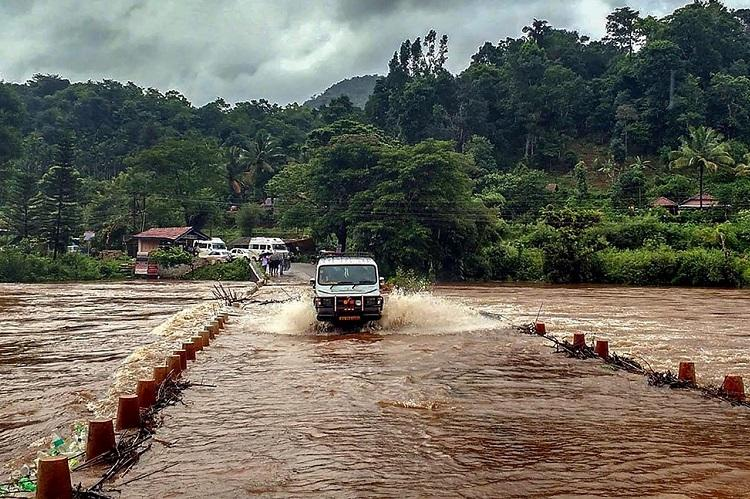 Heavy rains lash Kodagu landslides in hilly areas No injuries or loss of life