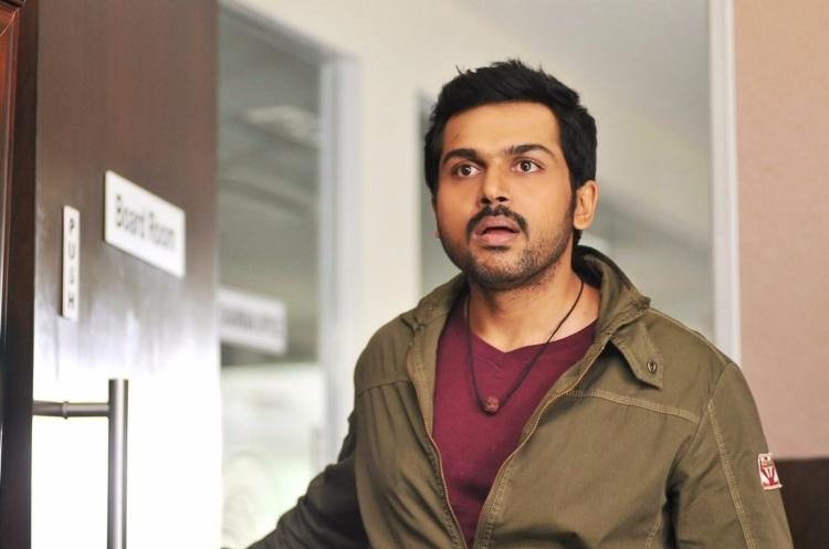 Either charming charlatan or violent youth its time Karthi broke out of his safe zones