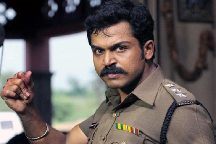Karthi returns as cop with Dheeran Adhigaaram Ondru