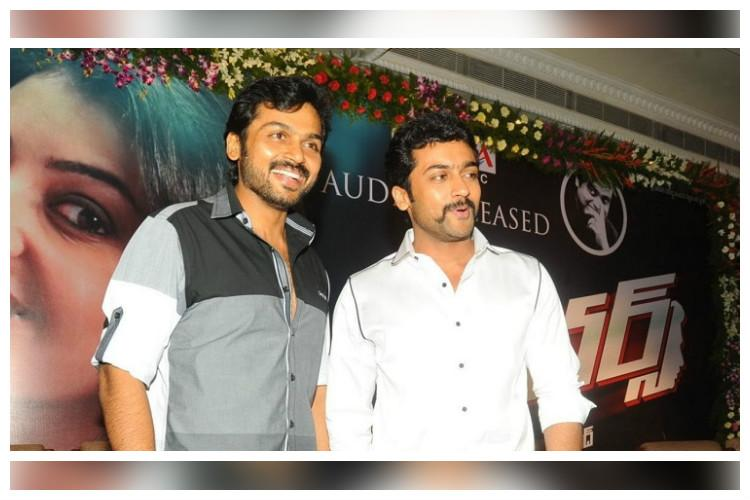 Suriya Karthi in search of the right script to work together