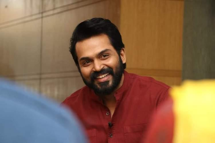 Karthi joins the sets of Bagiyaraj Kannans film