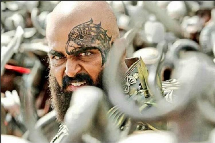 First look of Kaashmora out bald and bearded Karthi looks very exciting