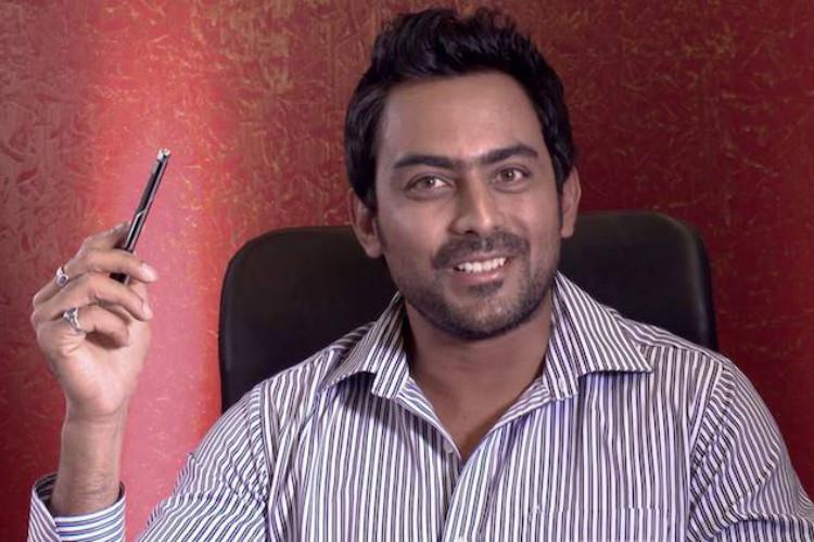 Karthik Jayaram returns with Kannada ghost film