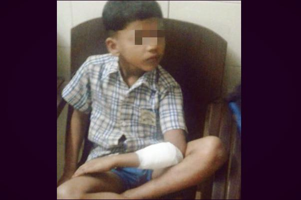 Attack on 7-year-old Kannur boy by uncle has nothing to do with politics say grandparents
