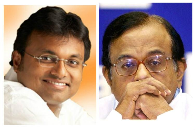 CBI raids on Karti and P Chidambaram allegations of facilitating illegal deal for INX Media