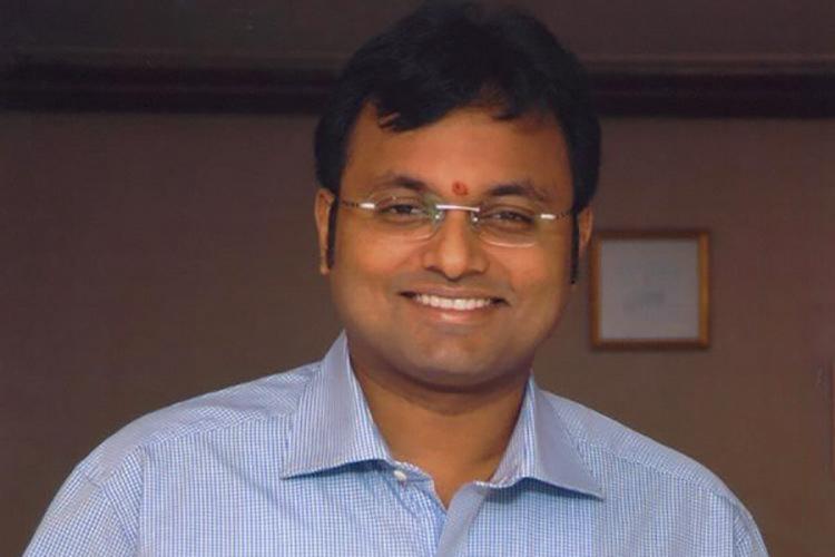 The MP Karti Chidambaram
