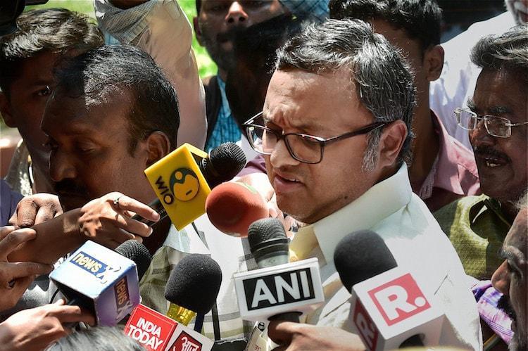 INX Media case Karti Chidambaram sent to one day CBI remand