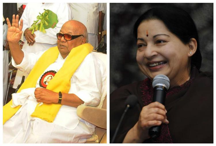 Karunanidhi irritated for not being given due importance AIADMK on DMKs advisory on banners