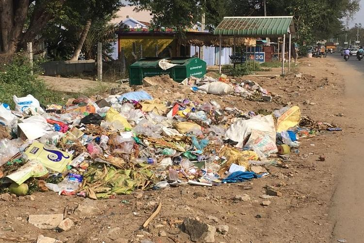 Awarded for its cleanliness last year this TN village now has garbage piling up