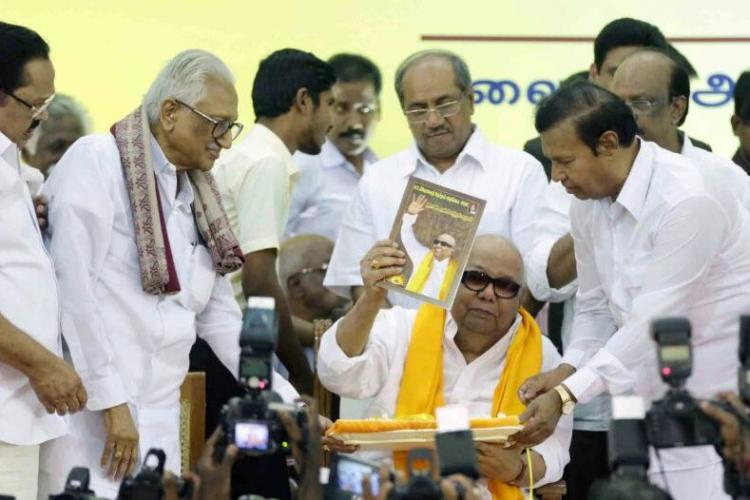 DMK releases poll manifesto Promises immediate prohibition slew of subsidies and schemes