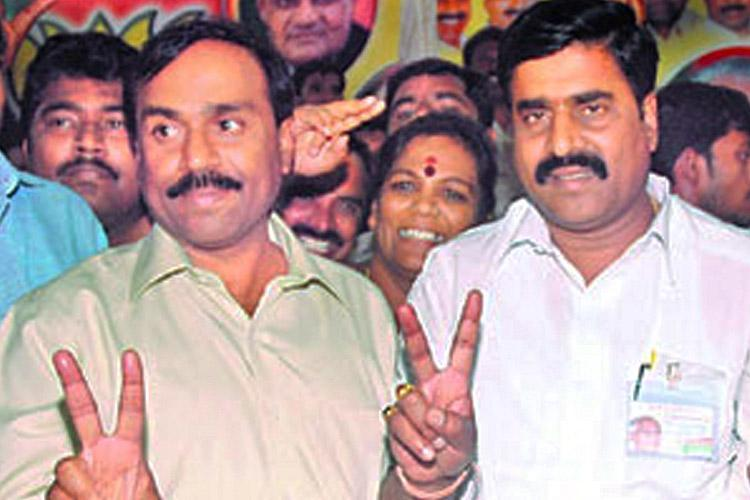 The Reddy influence in BJP Party names two brothers as candidates in Ktaka polls