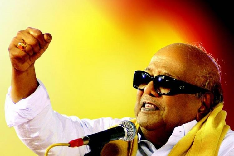 Its DMK chief Karunanidhis birthday HBDKalaignar95 trends nationwide