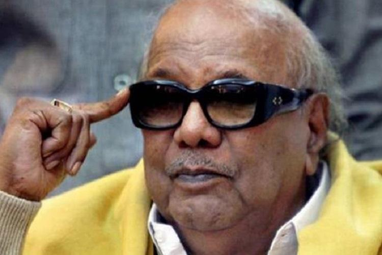 M Karunanidhi hospitalised for routine medical procedure in Chennai