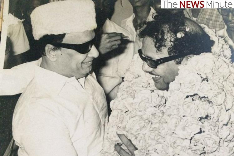 Karunanidhi and MGR: A checkered friendship, and a lesson in