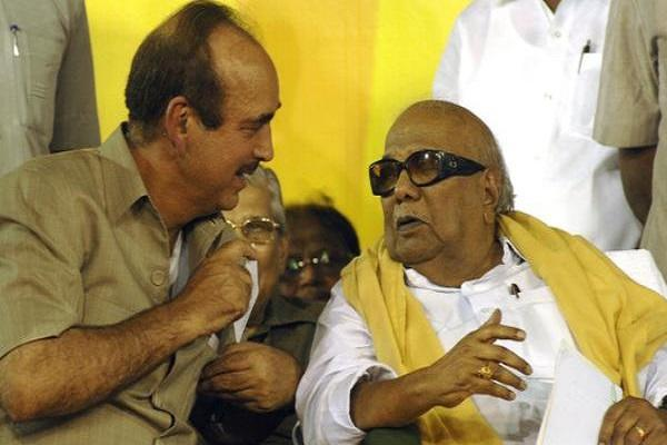 DMK-Congress talks smooth no word on seat-sharing