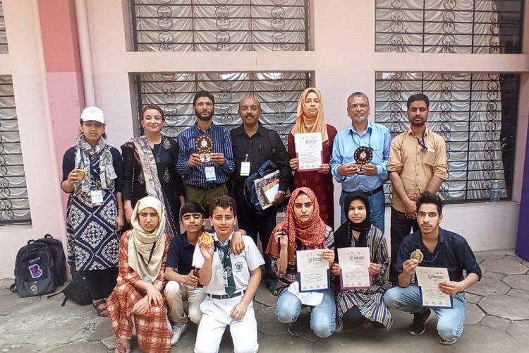 Kashmiri girls project wins recognition at National Science Congress in Kerala