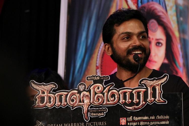 Karthis Kashmora release date officially announced