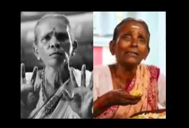 Talent crunch Its the same granny in AIADMK and DMK ads
