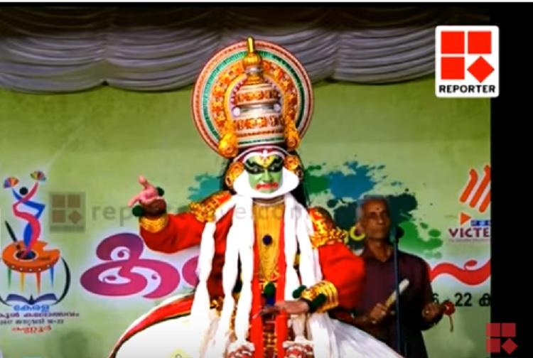 No takers for tradition Students perform Kathakali to empty chairs at Kerala school kalolsavam
