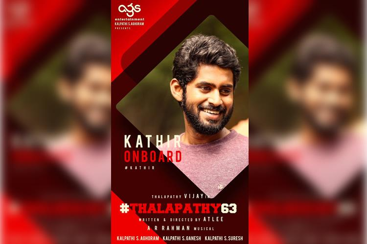 Image result for kathir in thalapathy 63