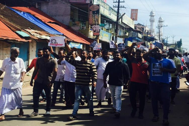 Shops shut vehicles stopped Normal life hit in Kerala after hartal call by social media groups