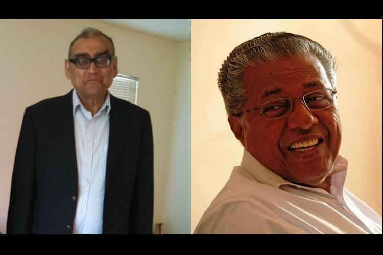 Katju sends love to Malayalis Pinarayi returns hug with a caveat