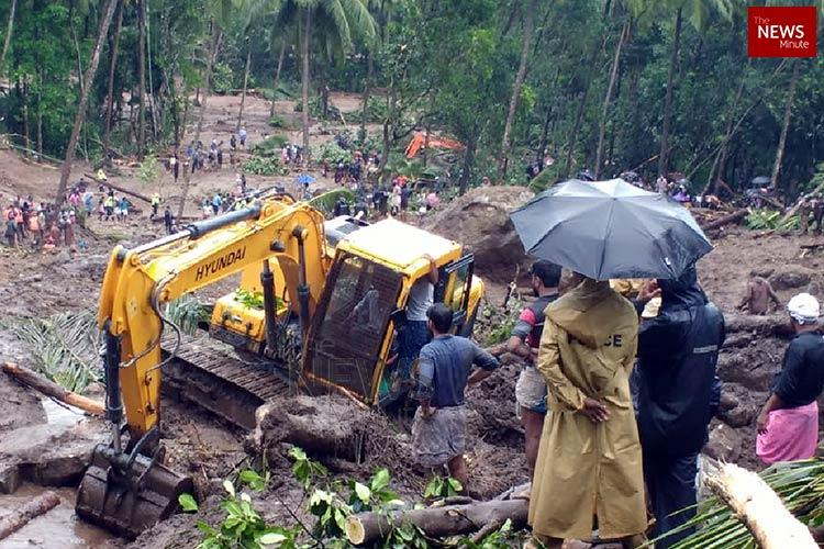 Death toll in Kozhikode landslide rises to 8 rains claim 43 lives in total in Kerala