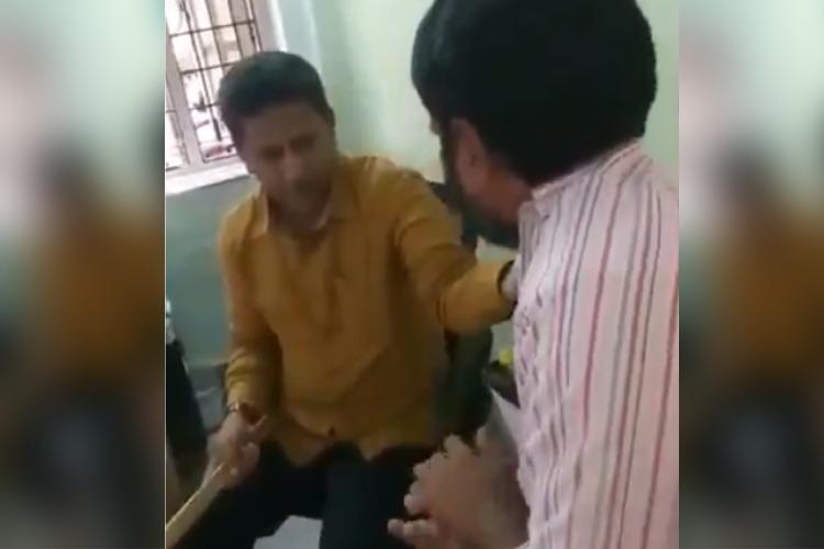 Hyderabad AIMIM MLA justifies beating employee with stick after video goes viral